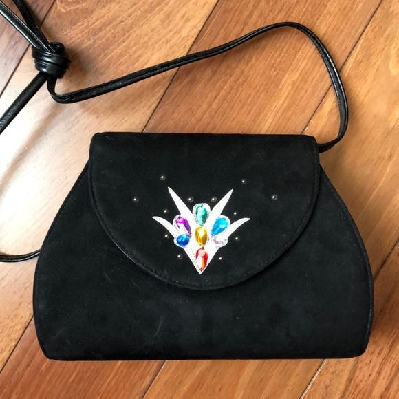 Vintage Handbags - Vintage 80's Style Evening Bag
